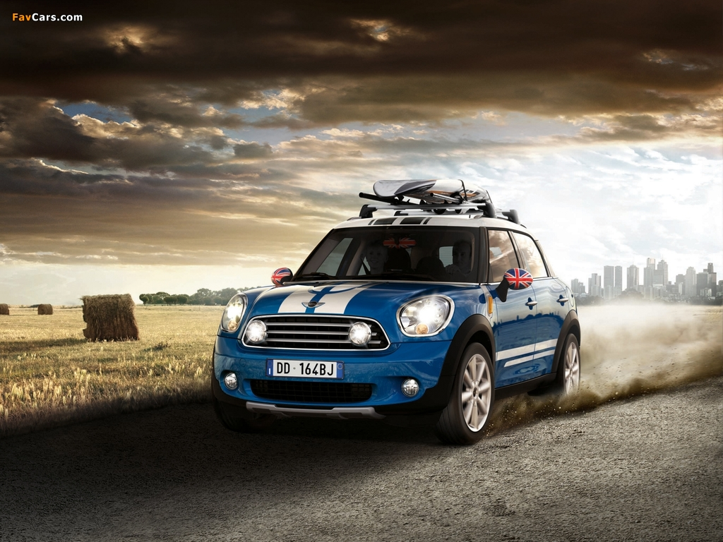 Images of Mini Cooper D Countryman Accessorized (R60) 2010 (1024 x 768 ...