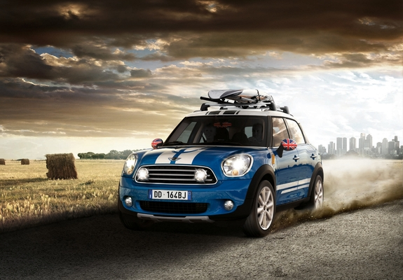 ... Preview - Images of Mini Cooper D Countryman Accessorized (R60) 2010