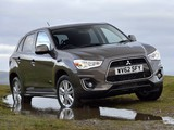 Mitsubishi ASX UK-spec 2013 photos