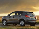 Mitsubishi ASX UK-spec 2013 pictures
