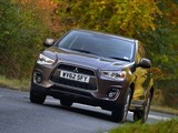 Mitsubishi ASX UK-spec 2013 wallpapers