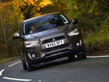 Photos of Mitsubishi ASX UK-spec 2013