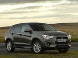 Pictures of Mitsubishi ASX UK-spec 2013