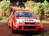 Mitsubishi Carisma GT Evolution VI Gr.A WRC 1999–2001 wallpapers