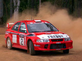 Photos of Mitsubishi Carisma GT Evolution VI Gr.A WRC 1999–2001