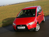 Images of Mitsubishi Colt 5-door UK-spec 2009