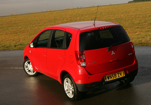 Photos Of Mitsubishi Colt 5 Door Uk Spec 2009