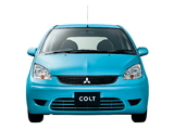 Pictures of Mitsubishi Colt 5-door JP-spec 2009–12