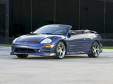 R1 Racing Wheels Mitsubishi Eclipse GTS Spyder 2003 wallpapers