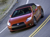 Mitsubishi Eclipse GT Spyder 2008 wallpapers