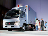Mitsubishi Fuso Canter Guts Eco Hybrid (FB7) 2006 wallpapers