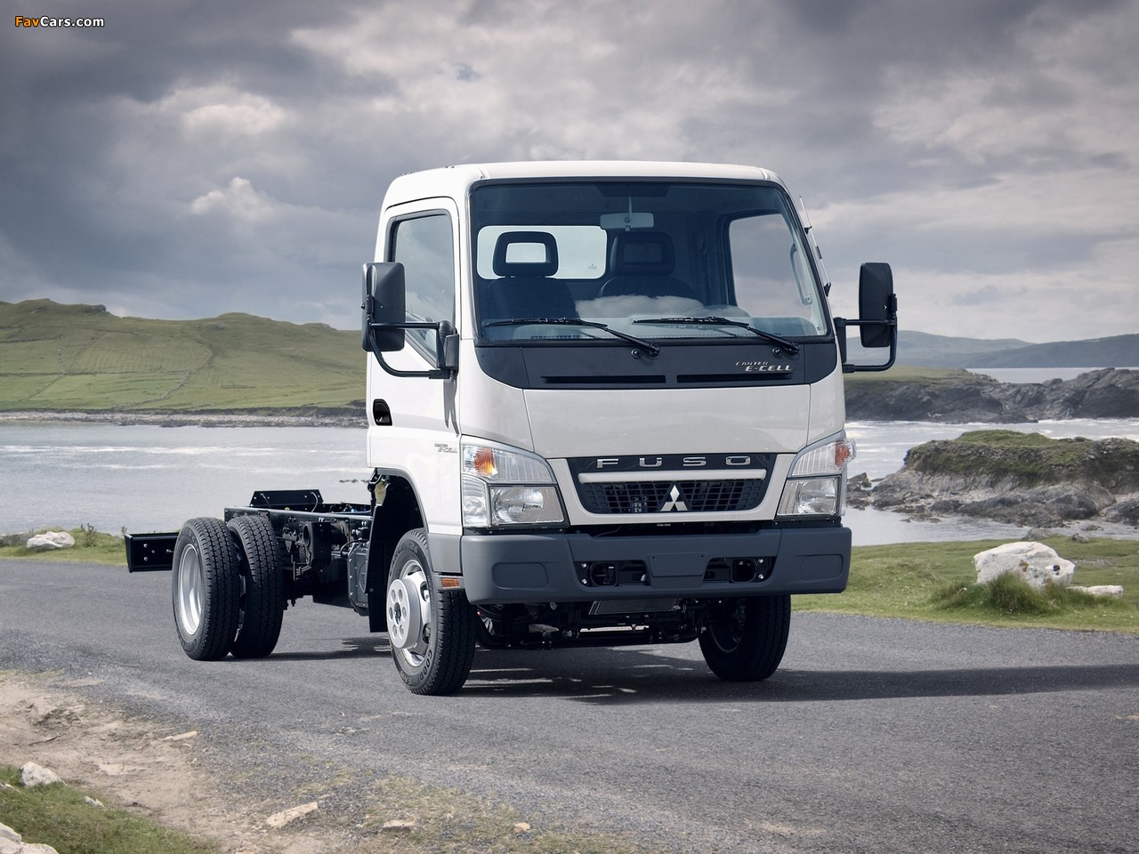 Pictures Of Mitsubishi Fuso Canter E Cell Fe7 2009 10
