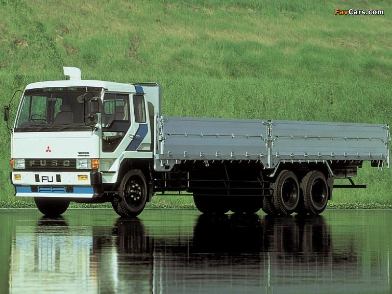 Mitsubishi Fuso The Great (FU) 1983–96 images (800x600)