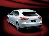 Photos of Mitsubishi Galant Fortis Sportback Ralliart 2008