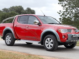 Mitsubishi L200 Animal UK-spec 2006–10 pictures
