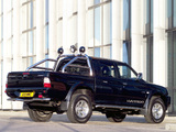 Photos of Mitsubishi L200 Double Cab Warrior 2005–06