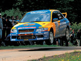 Mitsubishi Lancer Evolution VII WRC 2001–03 photos