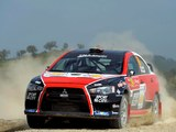 Mitsubishi Lancer Evolution X Race Car 2008 pictures