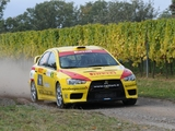 Mitsubishi Lancer Evolution X Race Car 2008 wallpapers