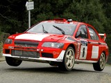 Pictures of Mitsubishi Lancer Evolution VII WRC 2001–03