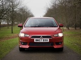 Images of Mitsubishi Lancer UK-spec 2007