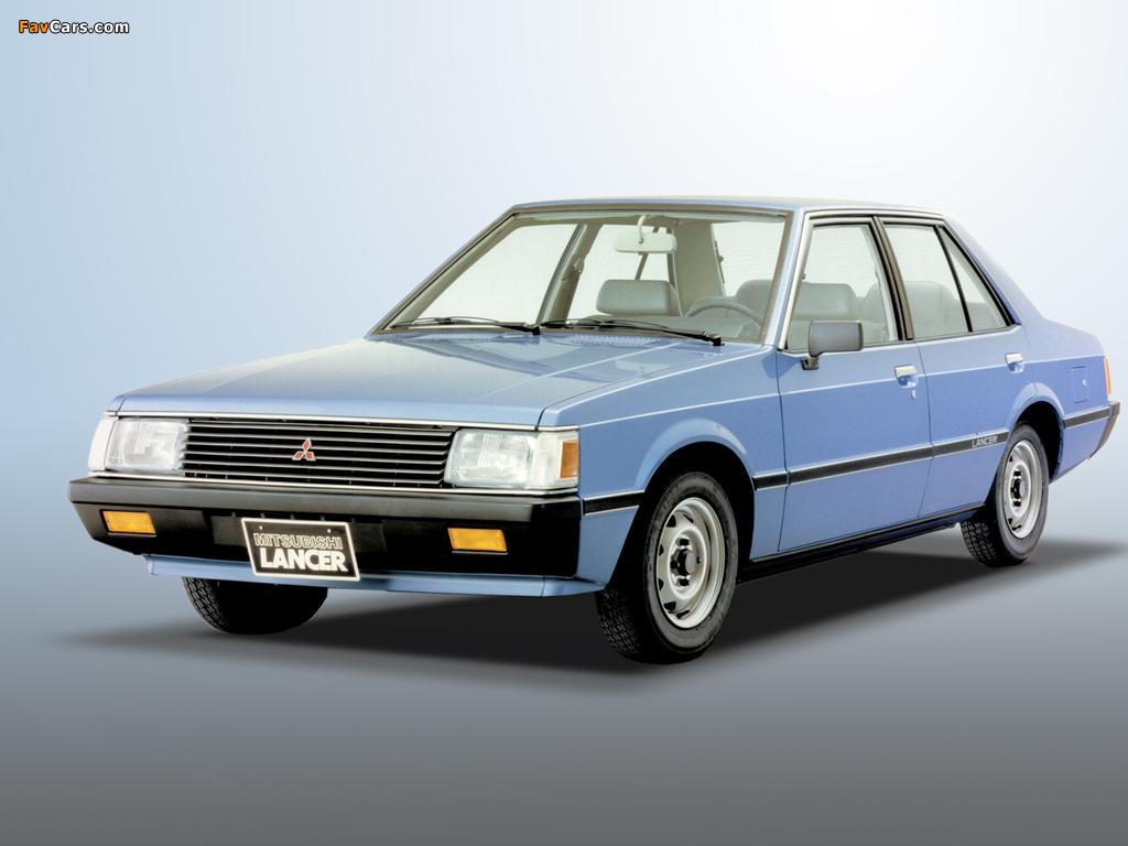 Mitsubishi Lancer 1979–87 wallpapers (1024x768)