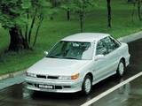 Pictures of Mitsubishi Lancer Hatchback 1988–91