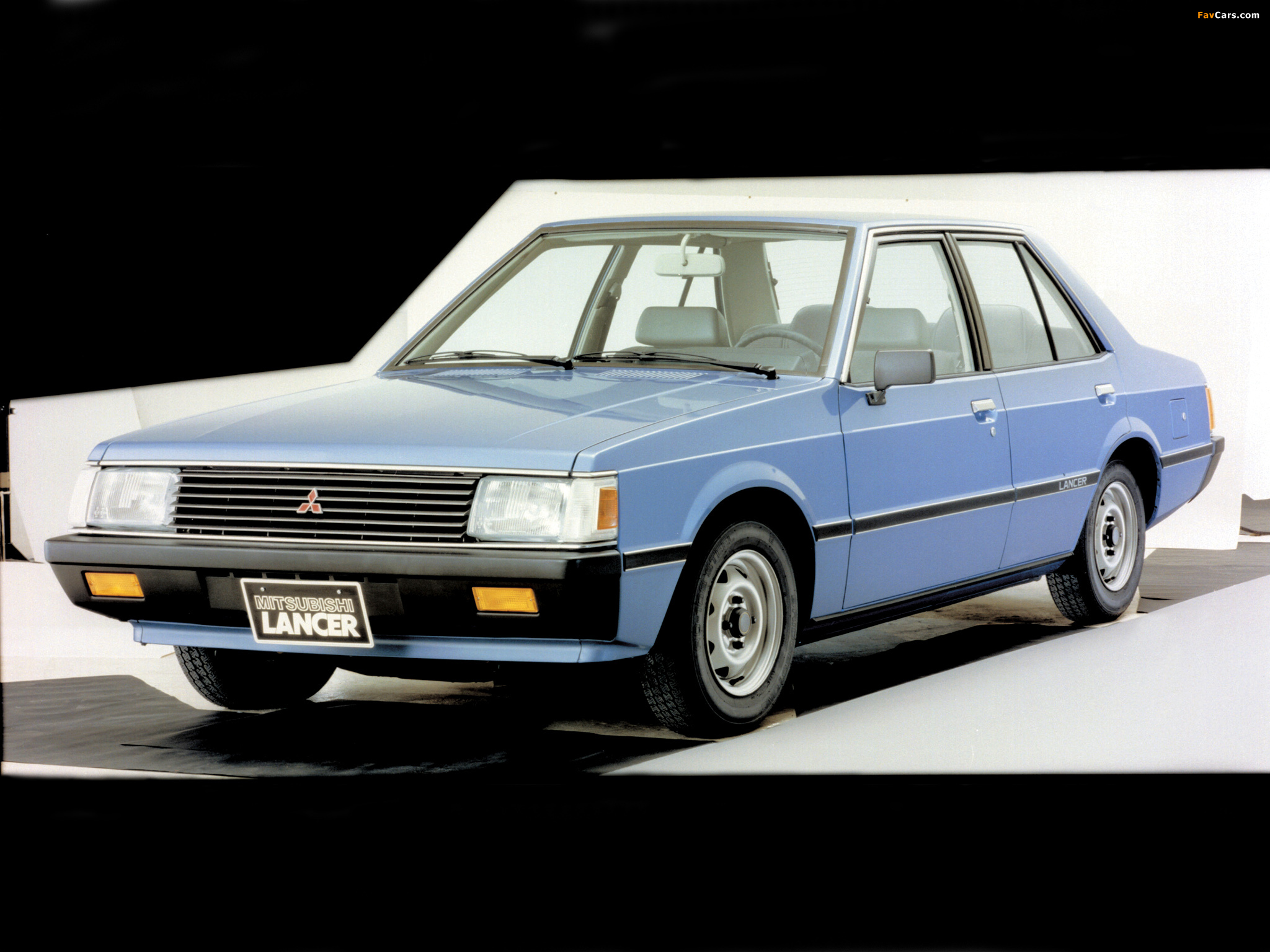 Wallpapers of Mitsubishi Lancer 1979–87 (2048x1536)