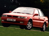 Mitsubishi Lancer Sedan UK-spec 1988–91 wallpapers