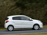 Mitsubishi Mirage UK-spec 2013 images