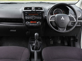 Mitsubishi Mirage UK-spec 2013 photos