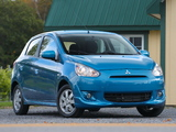 Mitsubishi Mirage US-spec 2013 photos