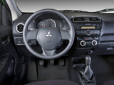 Mitsubishi Mirage US-spec 2013 pictures