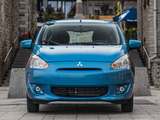 Pictures of Mitsubishi Mirage US-spec 2013