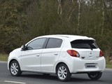 Mitsubishi Mirage UK-spec 2013 wallpapers