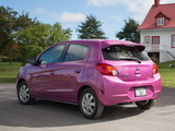 Mitsubishi Mirage US-spec 2013 wallpapers