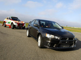 Pictures of Mitsubishi Racing Lancer & Lancer Evolution X 2008