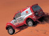Pictures of Mitsubishi Pajero/Montero Super Production Cross-Country Car 2002