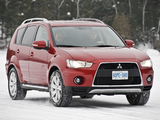 Images of Mitsubishi Outlander US-spec 2009