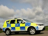 Mitsubishi Outlander UK Police 2007–09 pictures