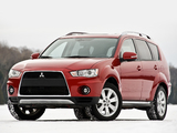 Mitsubishi Outlander US-spec 2009 wallpapers