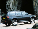Photos of Mitsubishi Shogun Sport 1999–2005