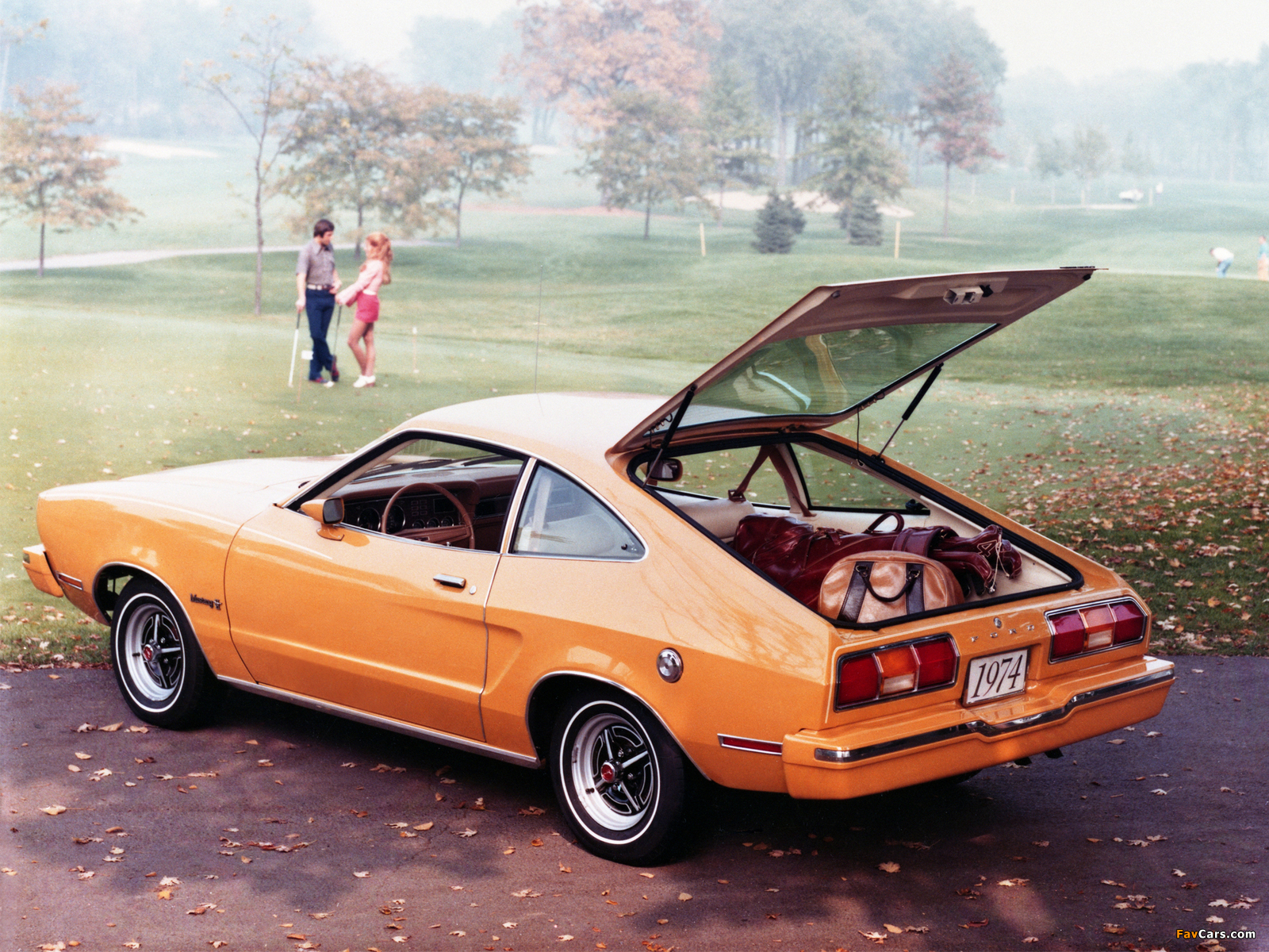 Wallpapers of Mustang II Hatchback 1974–78 (1600x1200)