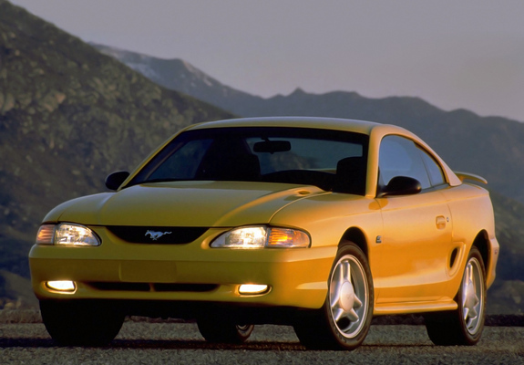 mustang gt coupe 1993 96 pictures. Black Bedroom Furniture Sets. Home Design Ideas