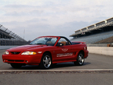 Mustang Cobra Convertible Indy 500 Pace Car 1994 wallpapers