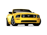 Mustang GT Convertible 2005–08 wallpapers