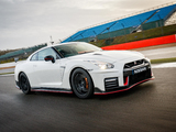 Photos of Nissan GT-R Nismo UK-spec (R35) 2017