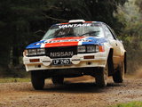 Nissan 240RS Group B Rally Car pictures