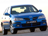 Nissan Almera Sedan ZA-spec (N16) 2000–03 wallpapers