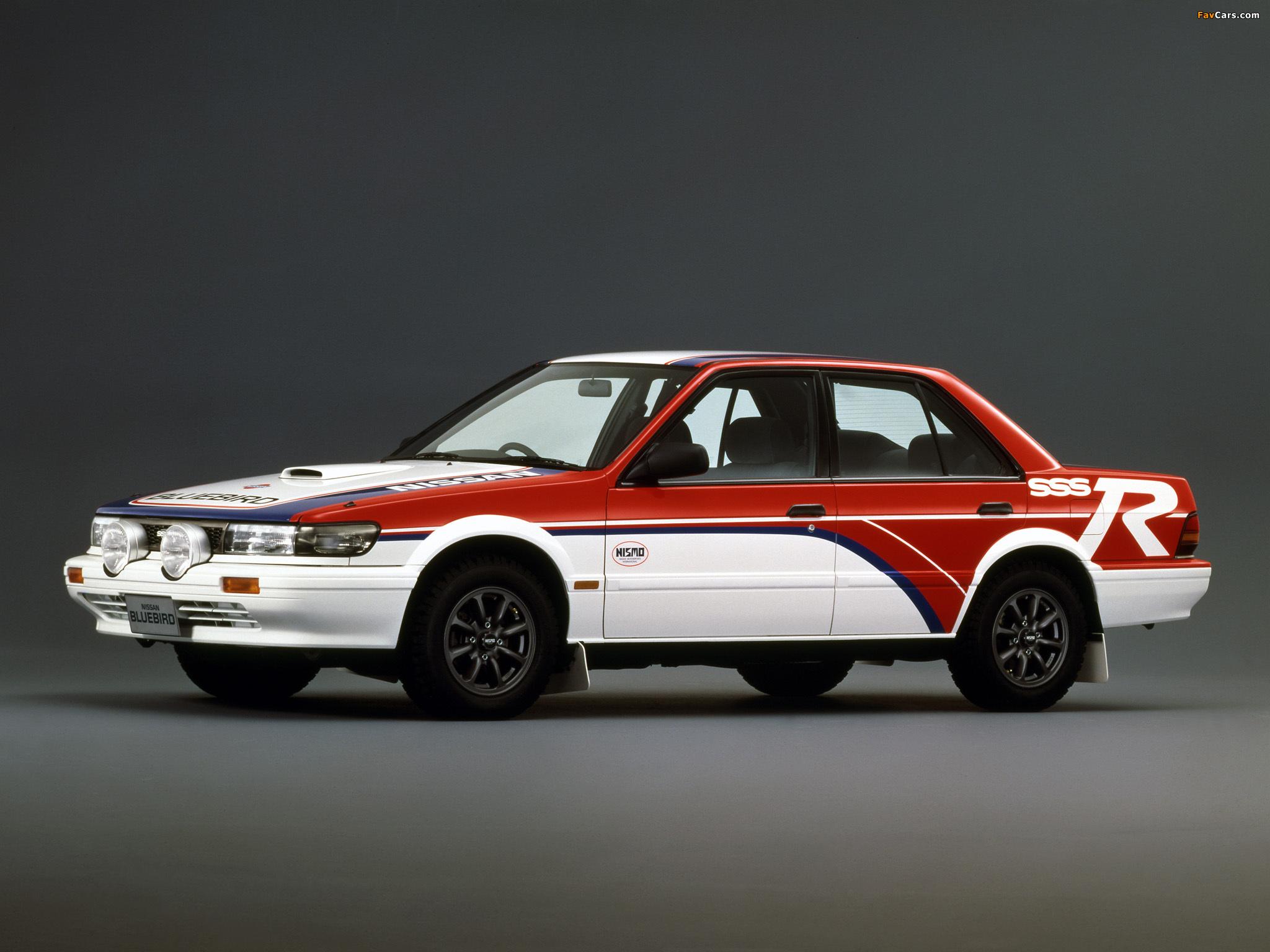 Bluebird SSS-R Attesa {U12} (1987) - Pictures 1987 Nissan Bluebird